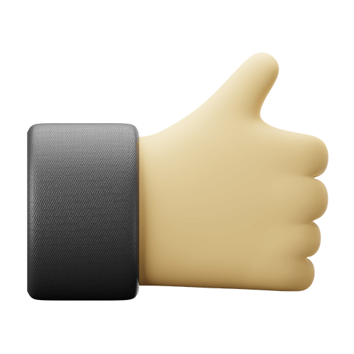 3D Thumbs Up